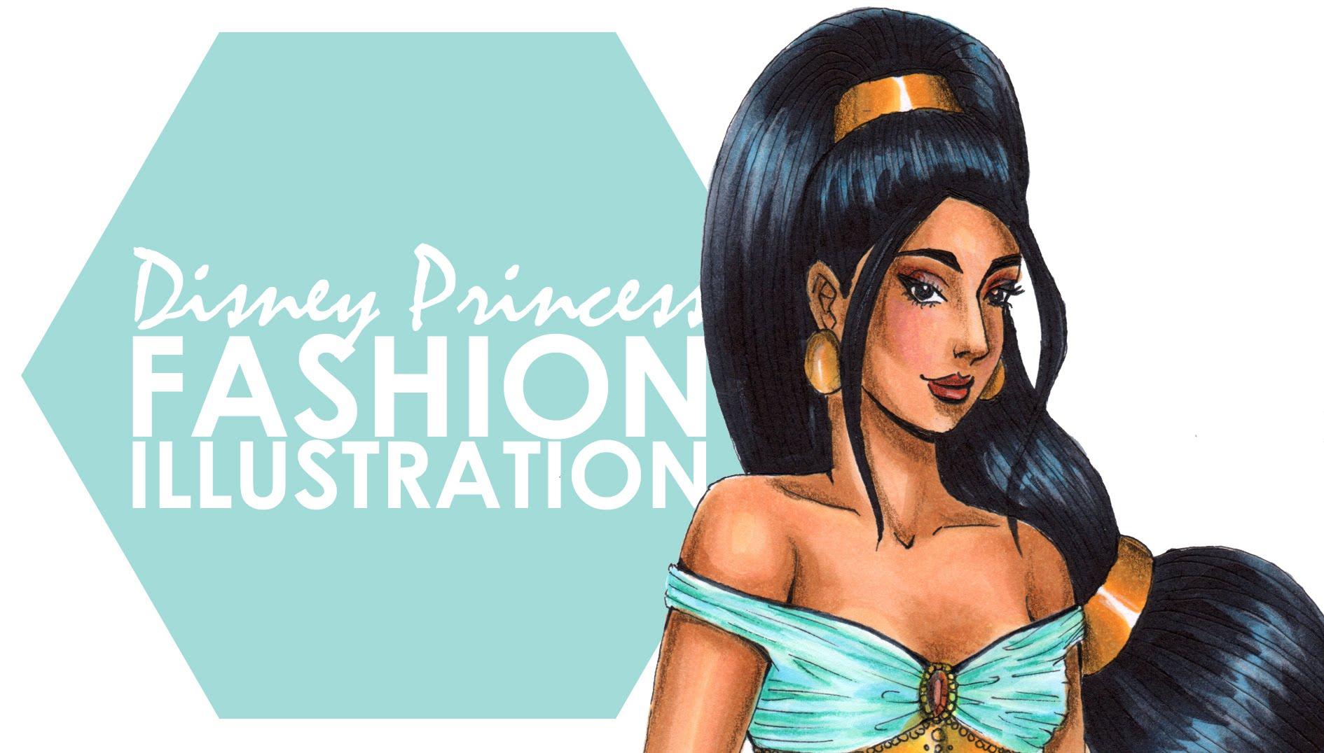 Fashion Illustration - Jasmine