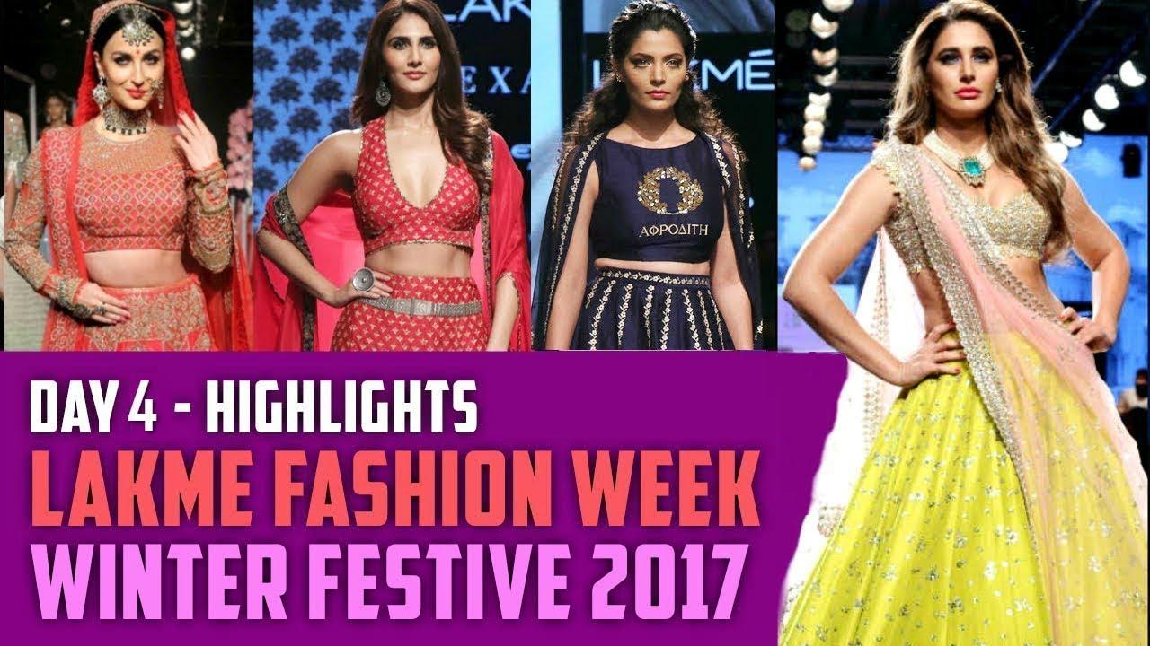 Nargis Fakhri, Elli Avram, Vaani Kapoor | Lakme Fashion Week | Winter/Festive | Day 4 Highlights