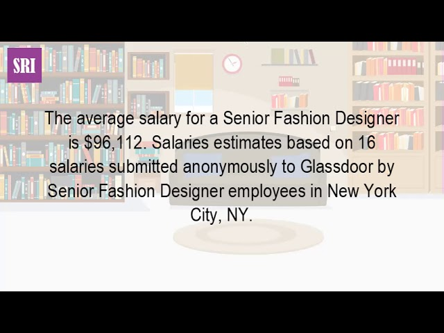 How Much Do Senior Fashion Designers Make Dubai