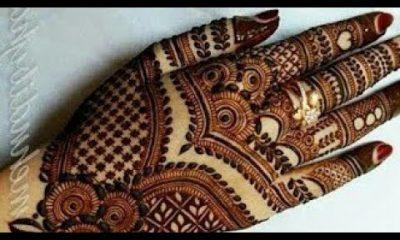 Wedding Special Mehndi Design   How To Do Mehndi At Home   Indian Dubai Mehndi Design for bridal