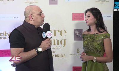 Fashion Designer Tarun Tahiliani at couture wedding affair Dubai - Anchor - Priya Jethani