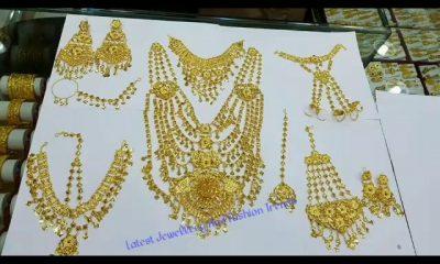Dubai Gold Jewellery Designs Collection