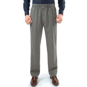 Mens 100% Cotton Cargo Pants-Newchic-