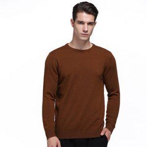 Mens 100% Woolen Warm Multi-color Sweater-Newchic-