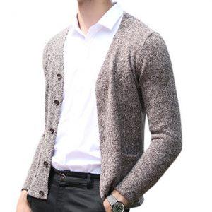 Mens Fashion Thicken Cardigan-Newchic-
