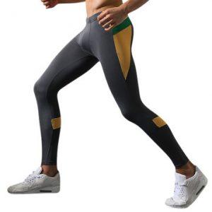 Mens High Elastic Skinny Warm Pants-Newchic-