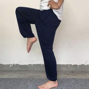 Mens Modal Loose Yoga Pants-Newchic-