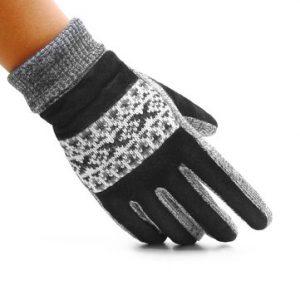 Mens Windproof Warm Pig Skin Gloves-Newchic-