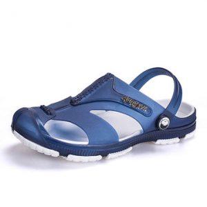 Men Anti-collision Toe Casual Beach Shoes-Newchic-Multicolor