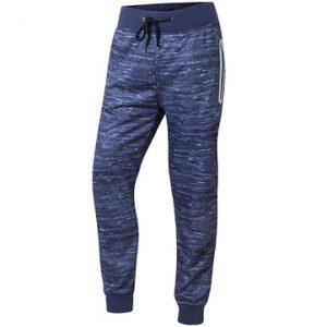 Mens Sport Pants Elastic Waist Drawstring Pockets Solid Color Casual Sportwear-Newchic-
