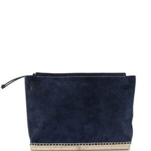 Altuzarra Espadrille clutch bag - Blue-