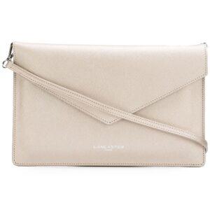 Lancaster textured clutch bag - Neutrals-