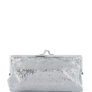 Paco Rabanne chainmail clutch - SILVER-