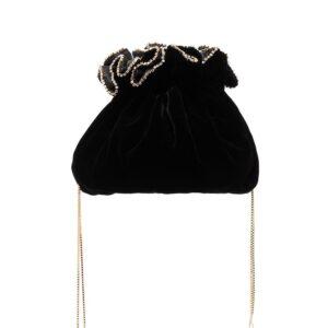 Rosantica black Moneta clutch bag-