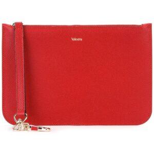 Valextra zipped clutch - Red-