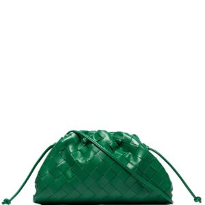 Bottega Veneta Pouch 20 leather clutch bag - Green