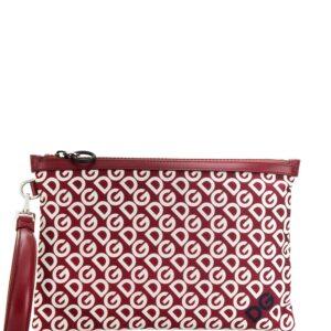 Dolce & Gabbana DG Mania print clutch - Red