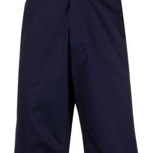 Etro straight fit bermuda shorts - Blue