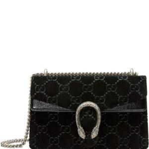 Gucci Dionysus GG velvet small shoulder bag - Black