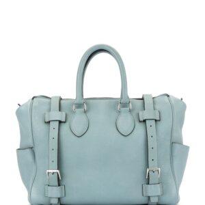 Hermès 2009 pre-owned Pure Sangle 31 tote - Blue