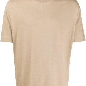 Joseph oversized crew neck T-shirt - NEUTRALS