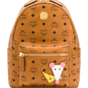 MCM Year Of The Rat Stark backpack - Brown