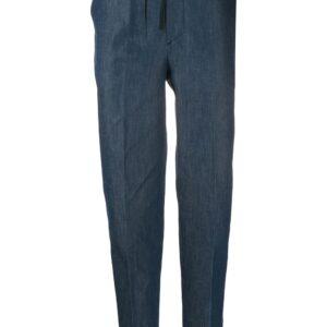 Maison Kitsuné tailored trousers - Blue