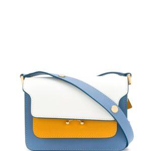 Marni mini Trunk shoulder bag - White