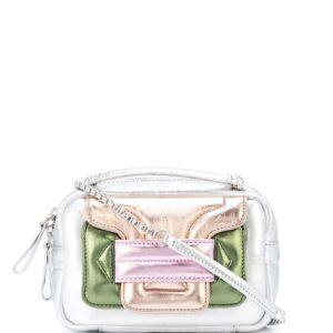 Pierre Hardy metallic tote bag - SILVER