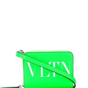 Valentino Garavani VLTN print shoulder bag - Green