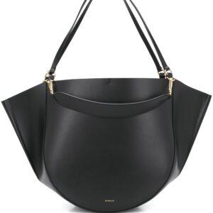 Wandler Mia leather tote - Black