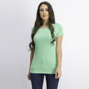 WomenS Shorts Sleeve Top Green