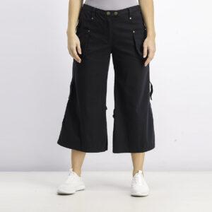 Womens Capri Pants Black