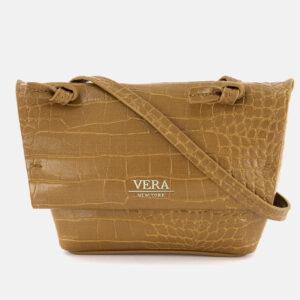 Womens Genny Cross Body Bags 12.5 H x 14 L x 5 W cm Cognac