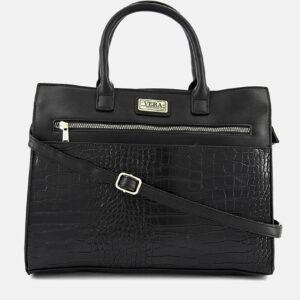 Womens Hannah Satchel Bag Black