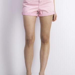 Womens High Waist Mom Fit Shorts Pink