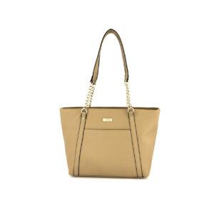 Womens Lisa Tote Bag 39 L x 10 W x 26 H cm French Latte