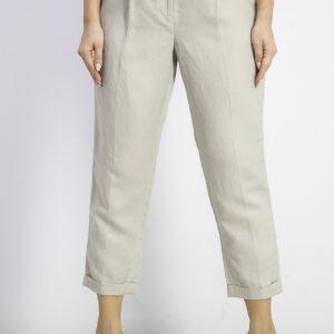 Womens Petite Slim-Ankle Pants Khaki