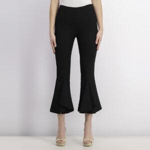 Womens Plain Pants Black