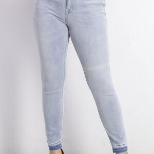 Womens Rockstar Super Skinny Jeans Wash Blue