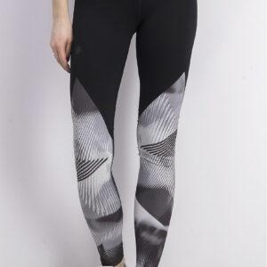 Womens Rush Leggings Print Black