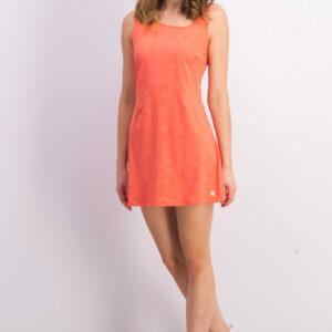 Womens Sideline Dress Orange