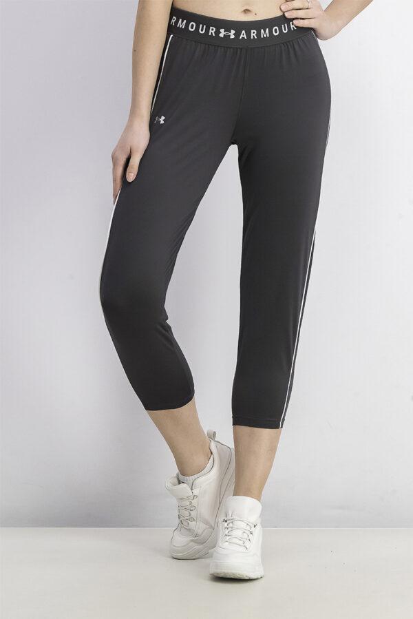 Womens Training Sports Crop Pants Graphite